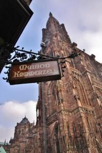 Strasbourg Cathédrale vue externe