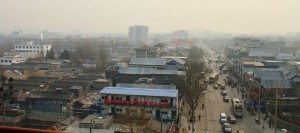 Chine Vieux quartier Hutong