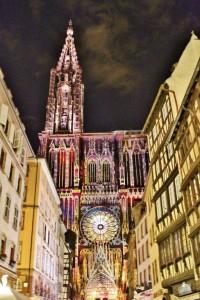Strasbourg illuminations de la Cathédrale