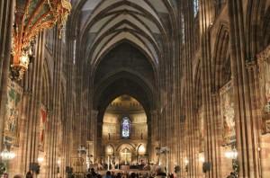 Strasbourg Cathédrale vue interne