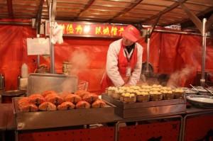 Marché journalier de Wanfunging (4)