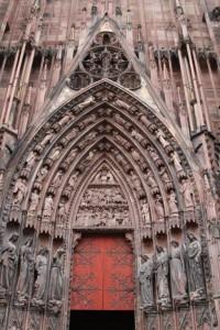 Strasbourg Cathédrale détails externes  (11)