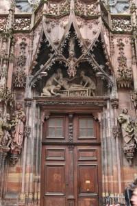 Strasbourg Cathédrale détails externes  (12)