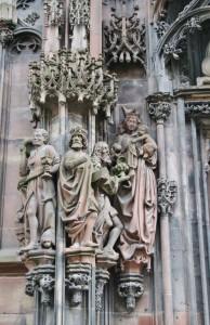 Strasbourg Cathédrale détails externes  (2)