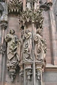 Strasbourg Cathédrale détails externes  (4)
