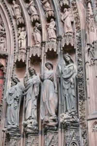 Strasbourg Cathédrale détails externes  (6)