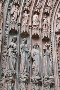Strasbourg Cathédrale détails externes  (7)
