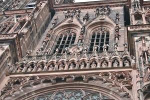Strasbourg Cathédrale détails externes