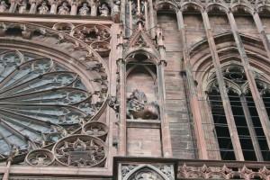 Strasbourg Cathédrale détails externes  (9)
