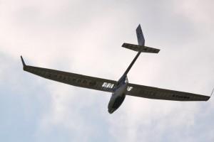 Coupe Icare explosion d'un planeur