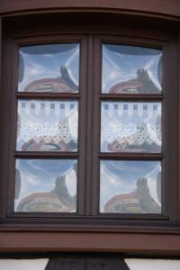maisons nord de l'Alsace + vitres bombées  (5)