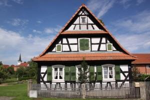 maisons nord de l'Alsace + vitres bombées  (6)